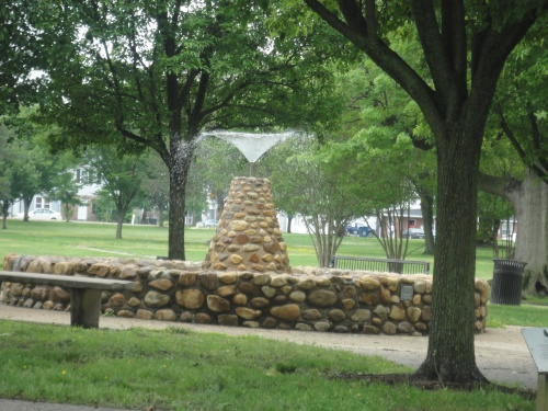 "The Village Green at ""the top of the hill"" in Indian Head"